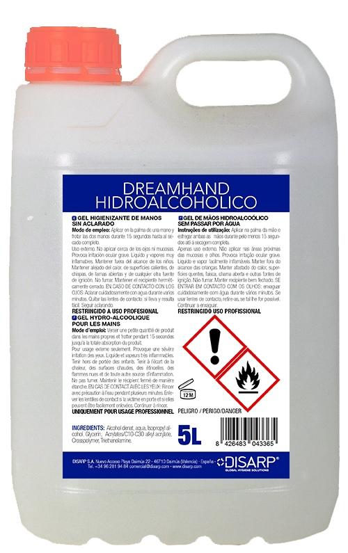 gel hidroalcoholico de manos